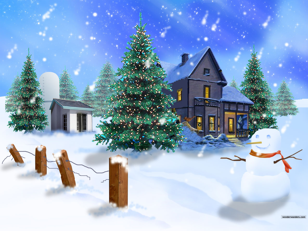 Christmas Hd Wallpaper Wallpaper