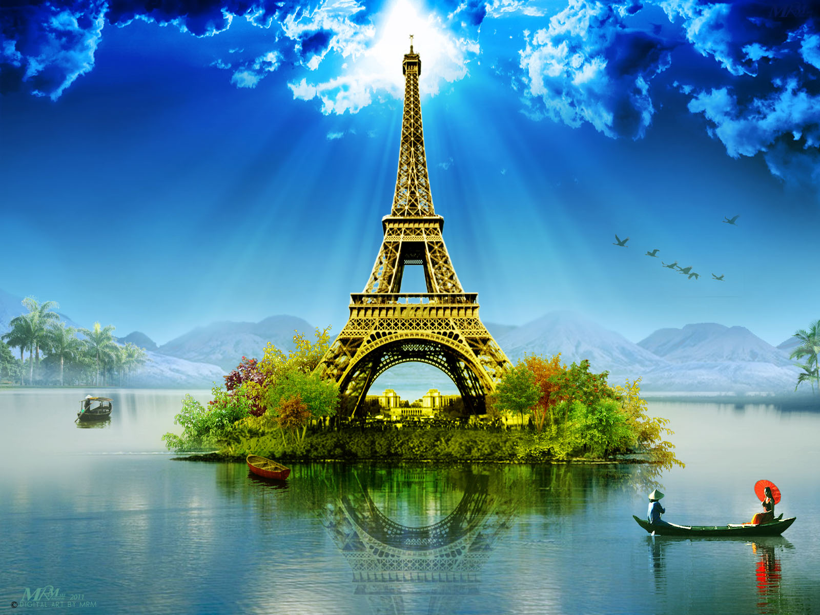Eiffel Tower Wallpaper Wallpaper