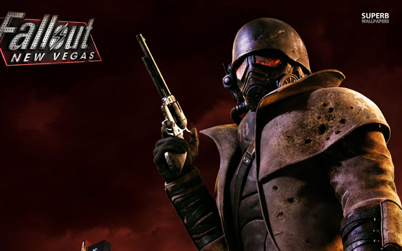 Fallout New Vegas Background Wallpaper