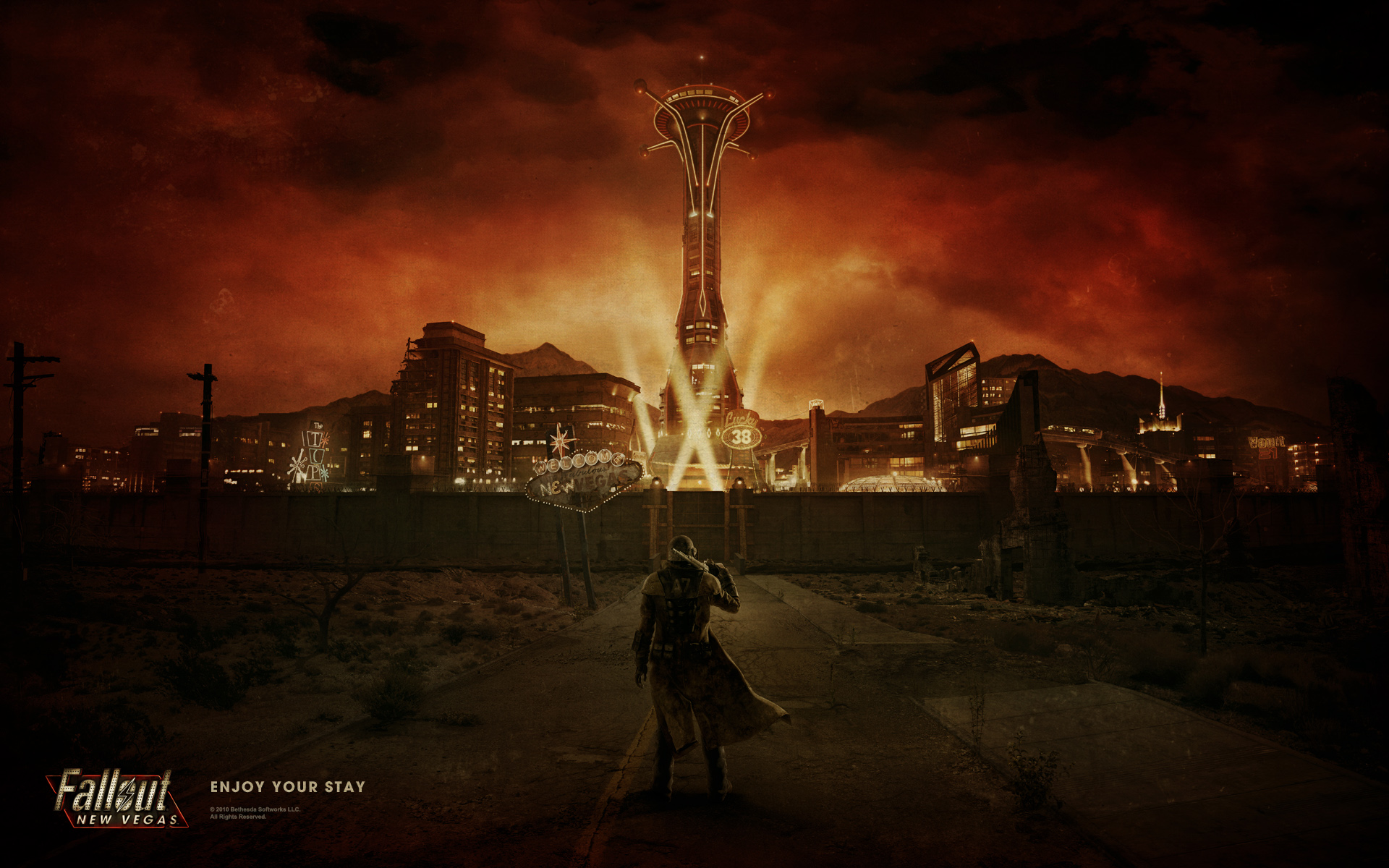Fallout New Vegas Hd Wallpaper Wallpaper