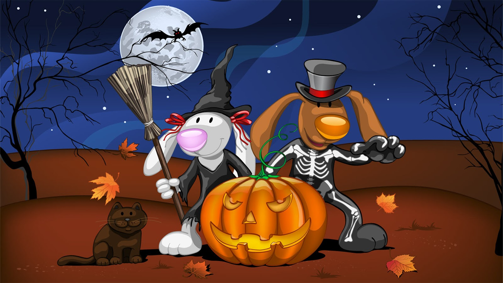 Funny Halloween Wallpapers Wallpaper