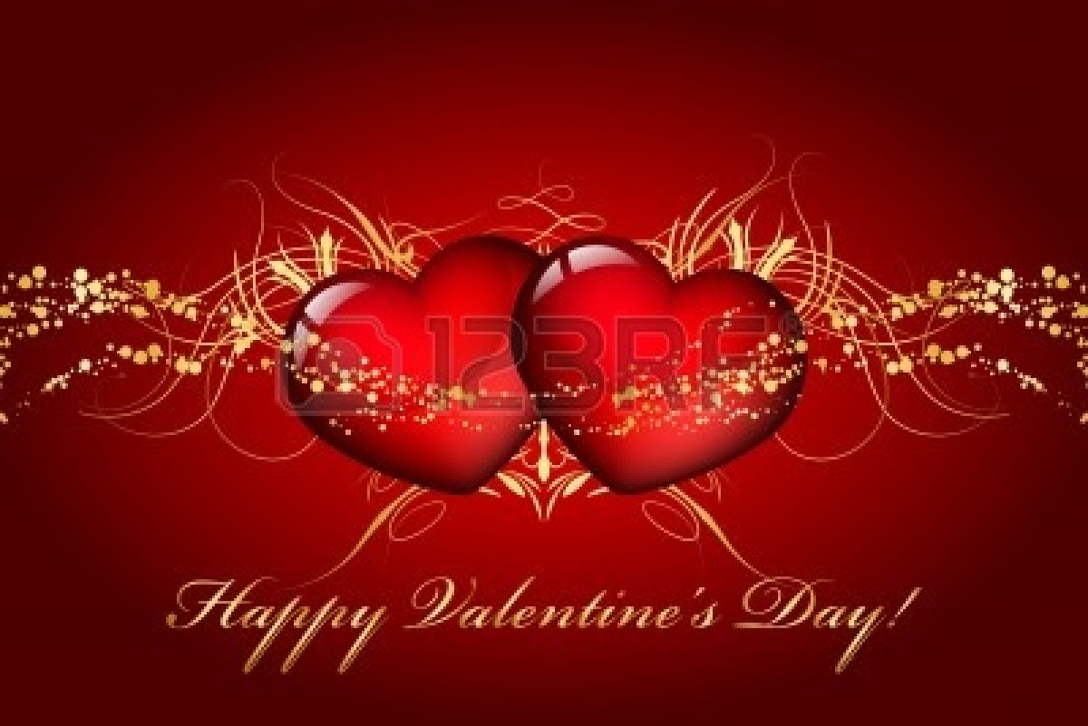 Happy Valentines Day In Italian Wallpaper