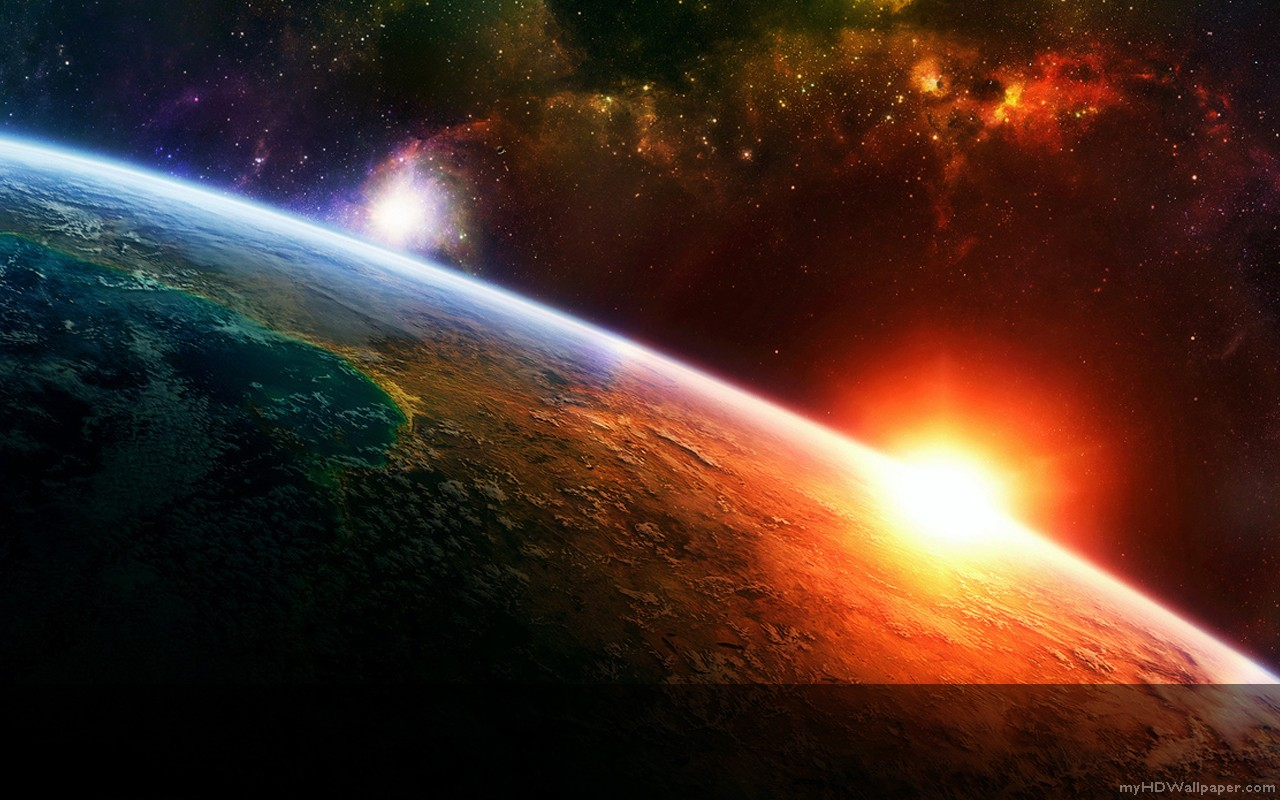 Hd Space Background Wallpaper
