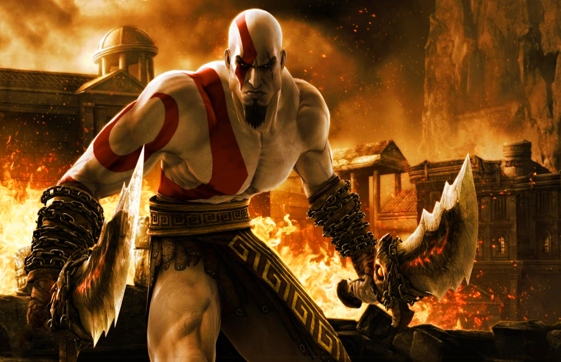 kratos god of war 32107 hd wallpapers background