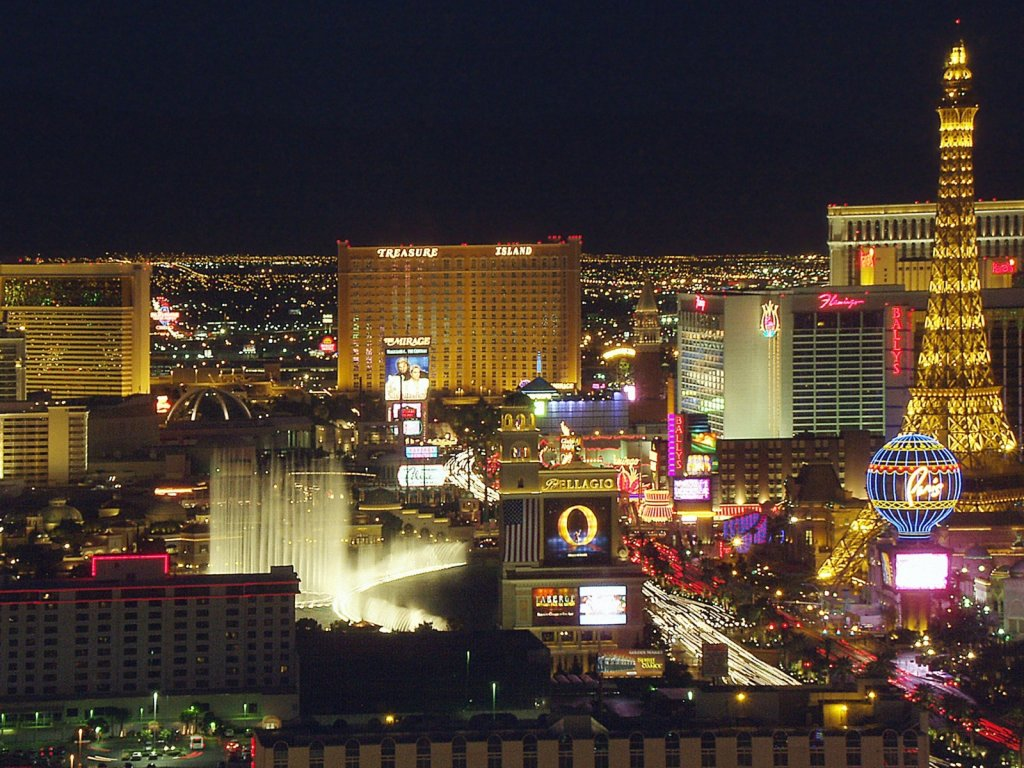 Las Vegas Widescreen Wallpaper Wallpaper