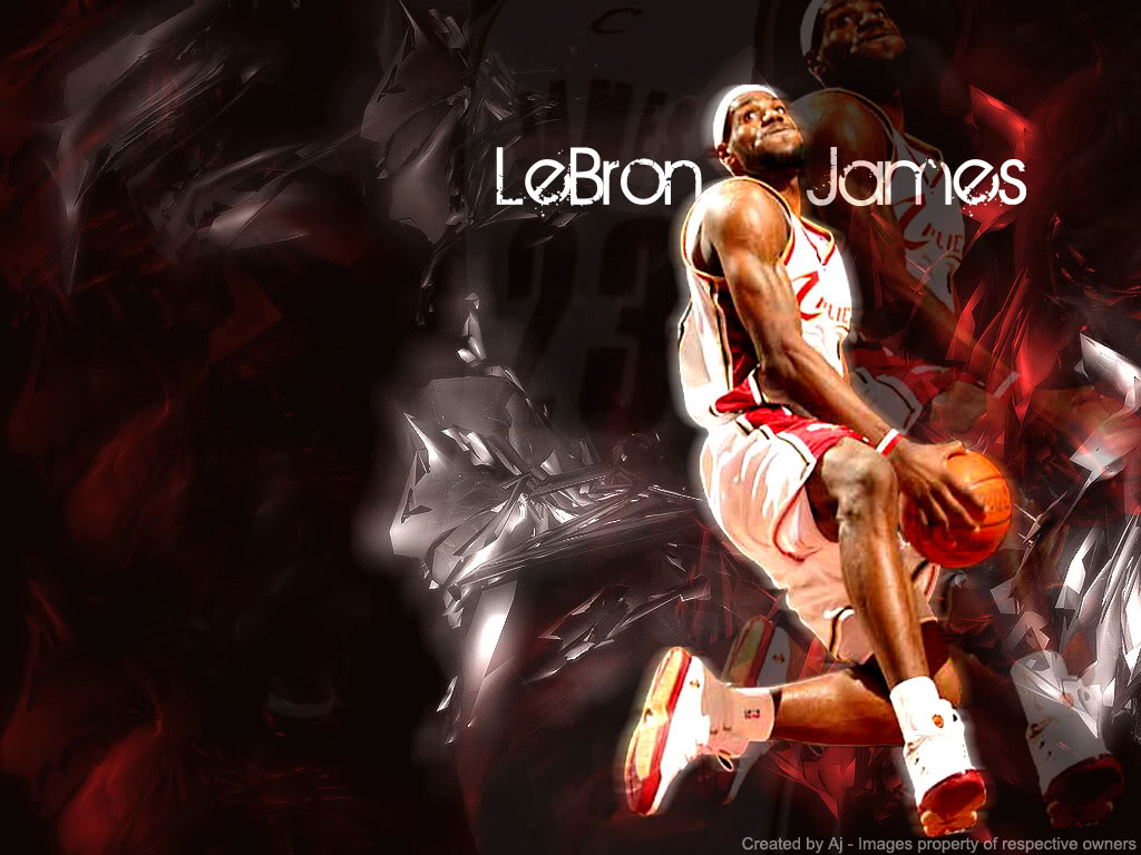 Lebron James Hd Wallpaper Wallpaper