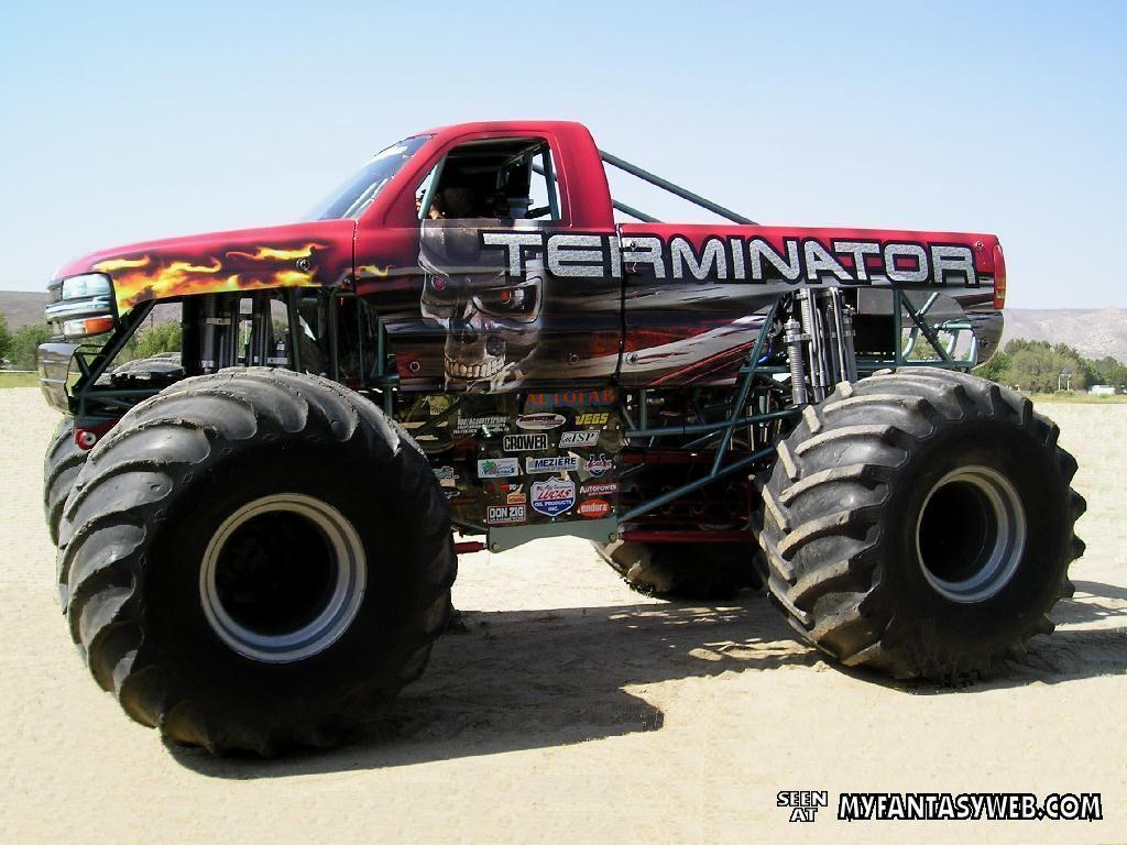 cool monster trucks wallpapers images