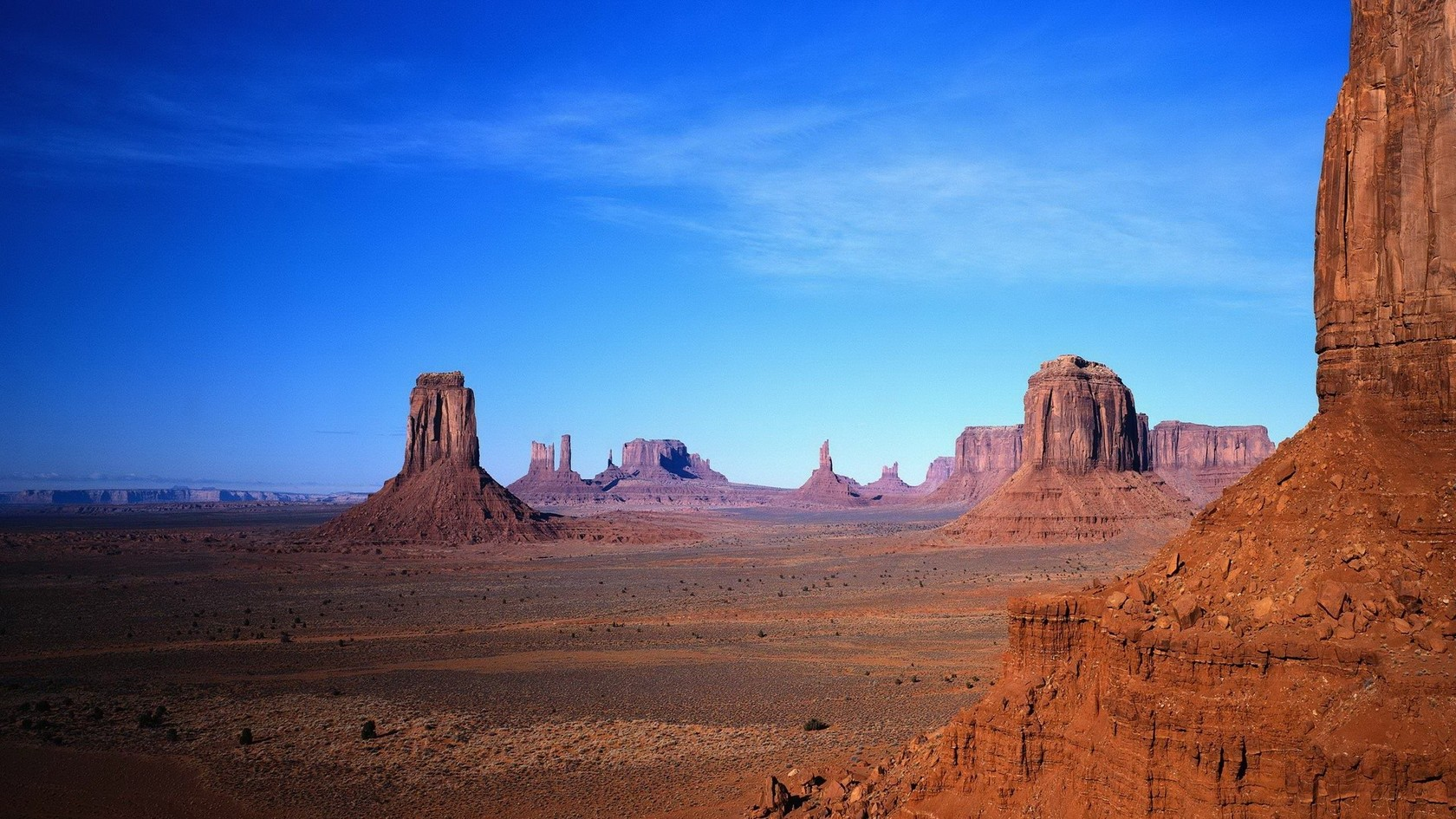 Monument Valley Wallpaper #43249 Hd Wallpapers Background