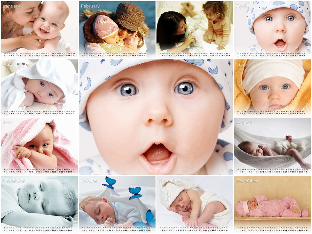 Picture Of Babies Wallpaper