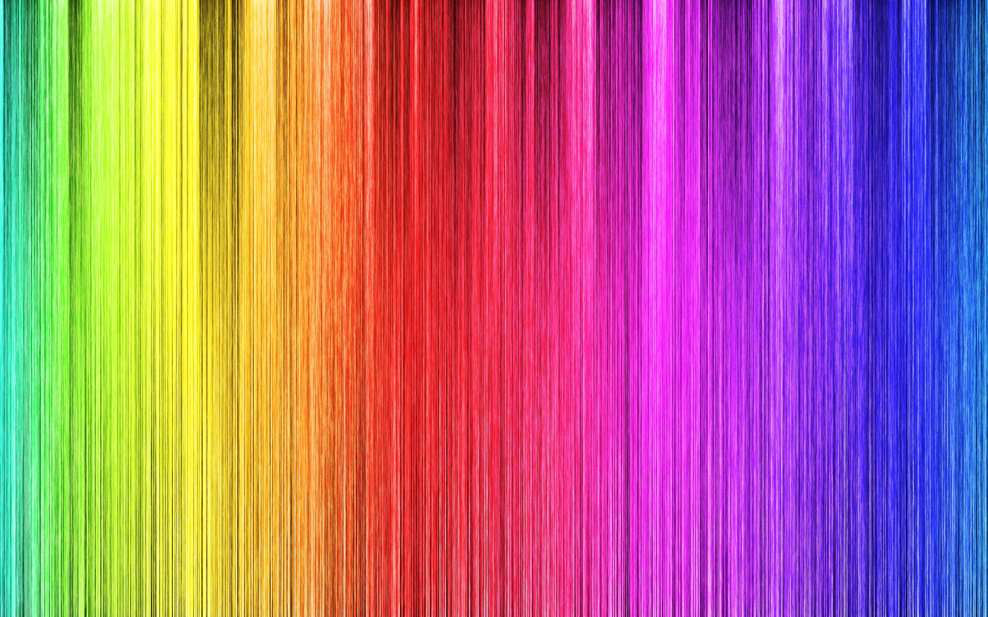 Rainbow Backround Wallpaper