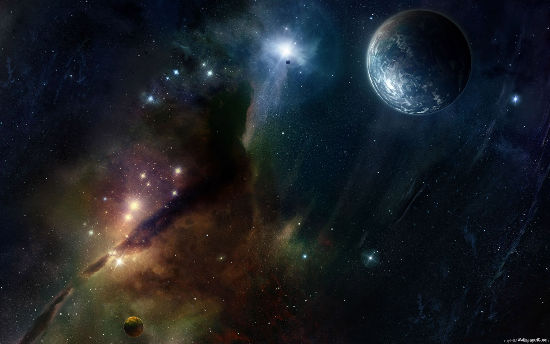 Space Backgrounds Hd Wallpaper