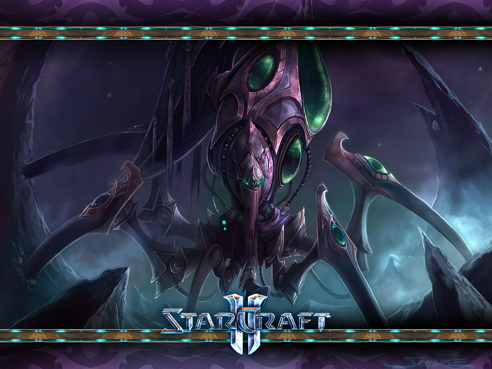 Starcraft 2 Hd Wallpaper Wallpaper