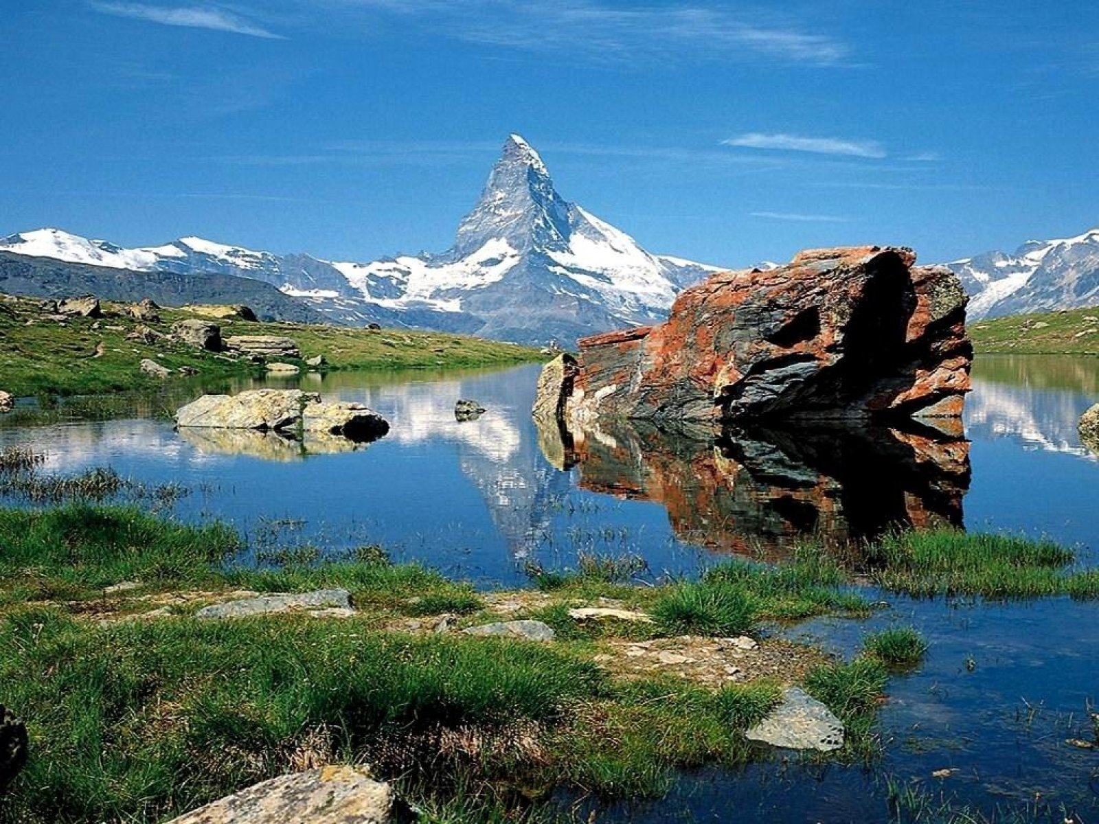 Swiss Alps Wallpaper Wallpaper