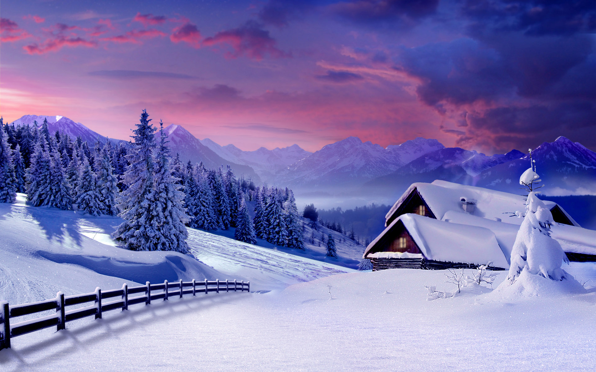 Widescreen Wallpaper Winter Wallpaper