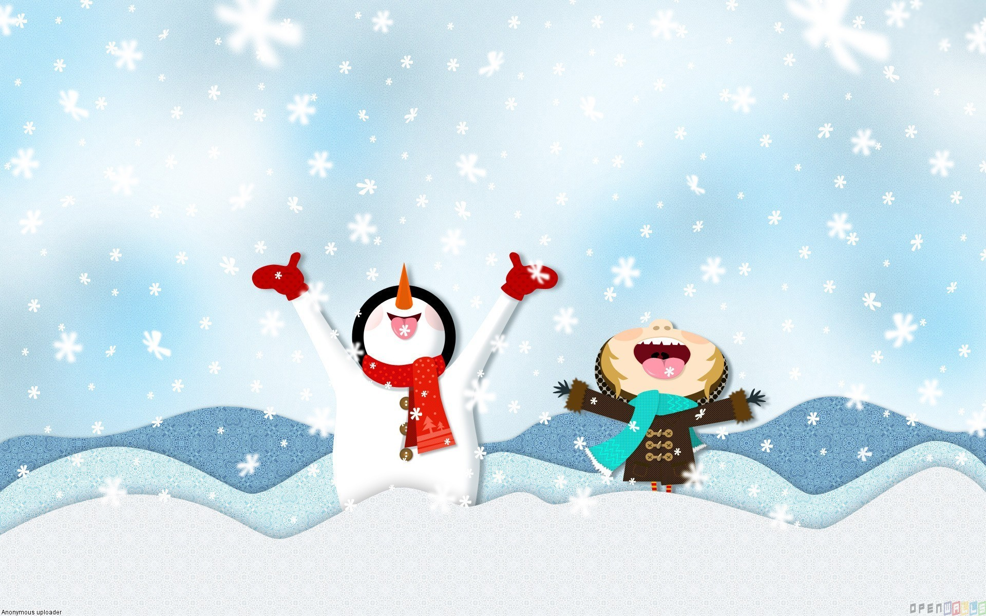 Winter Holiday Wallpapers Wallpaper