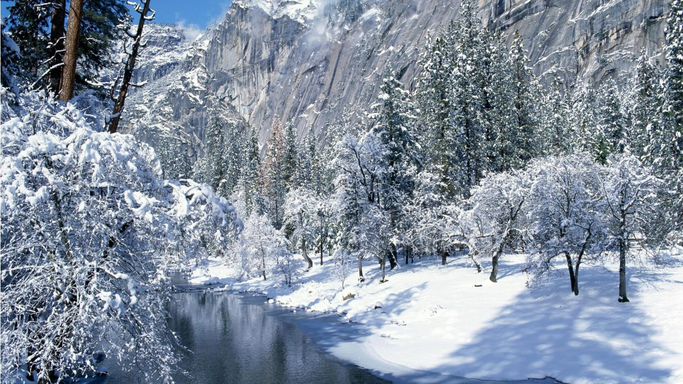 Winter Scenes Wallpaper Free Wallpaper