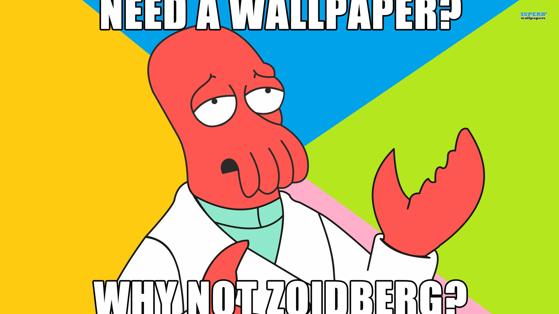 Funny wallpaper pics quotes photos futurama zoidberg 1920x1080