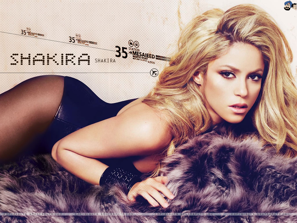 Shakira Hot HD Wallpaper Wallpaper