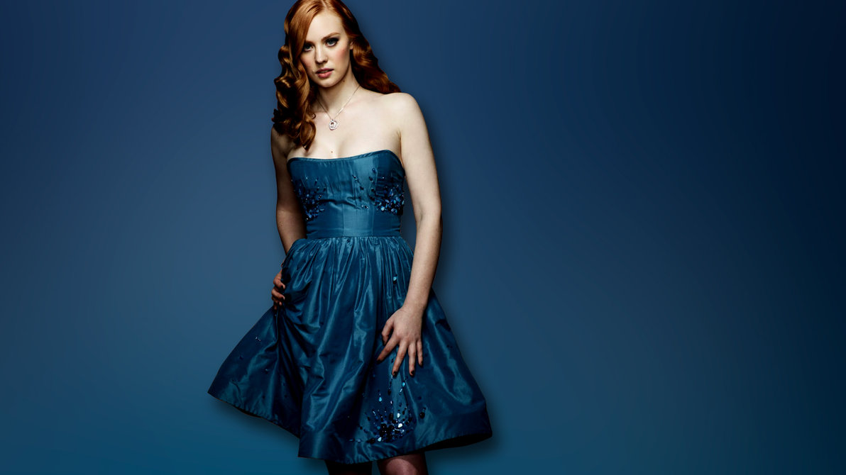 Deborah Ann Woll (Wallpaper) HD 1366 x 768 Wallpaper