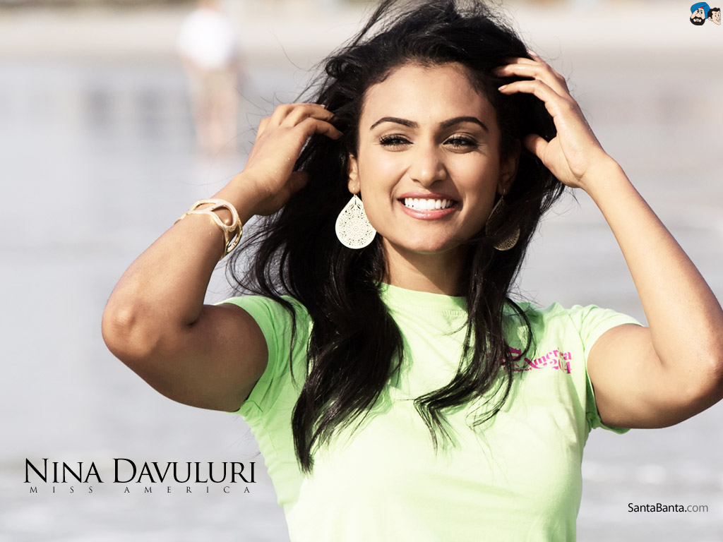 Nina Davuluri Miss America Wallpaper