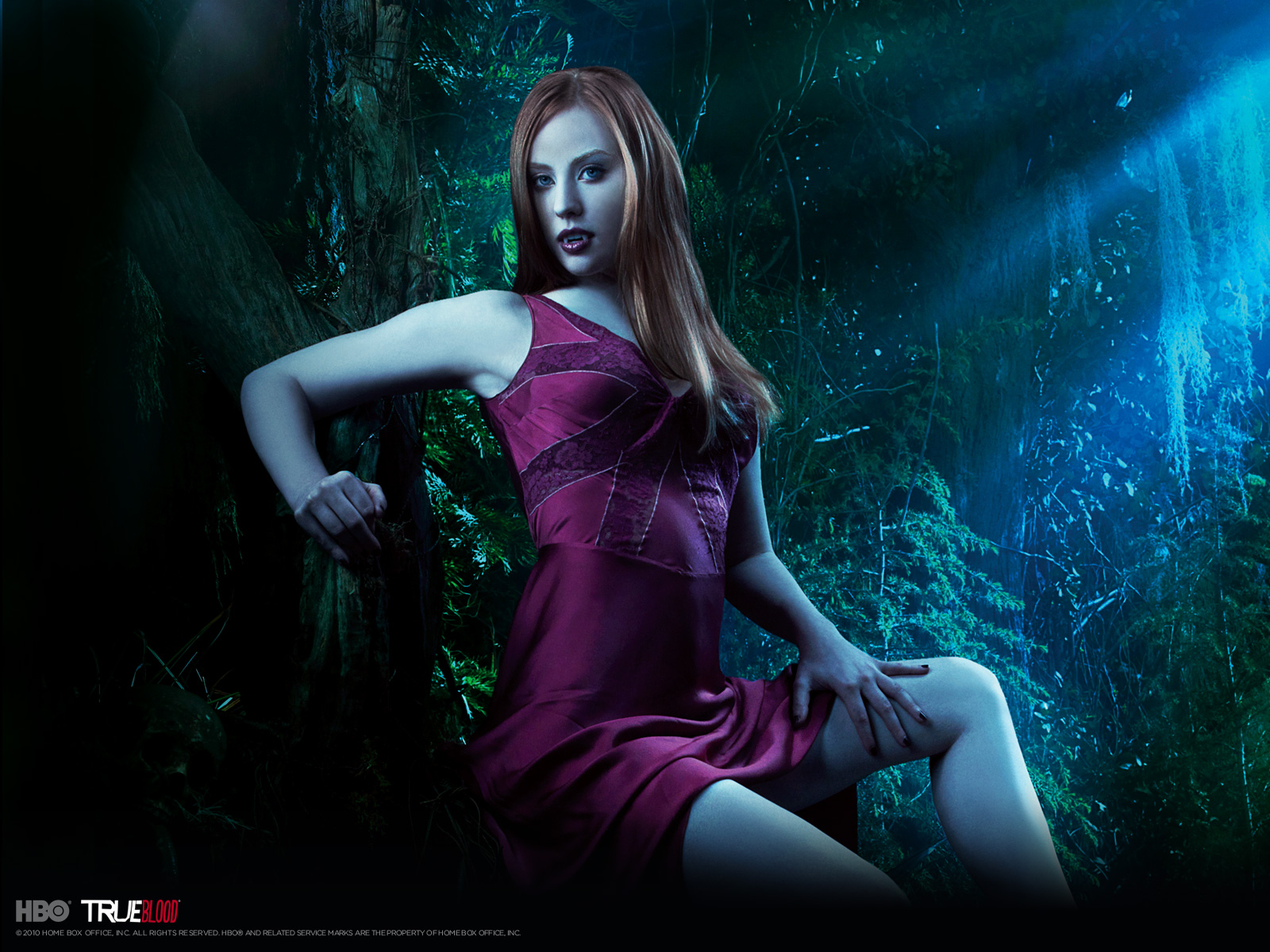 True Blood Deborah Ann Woll as Jessica wallpaper hd