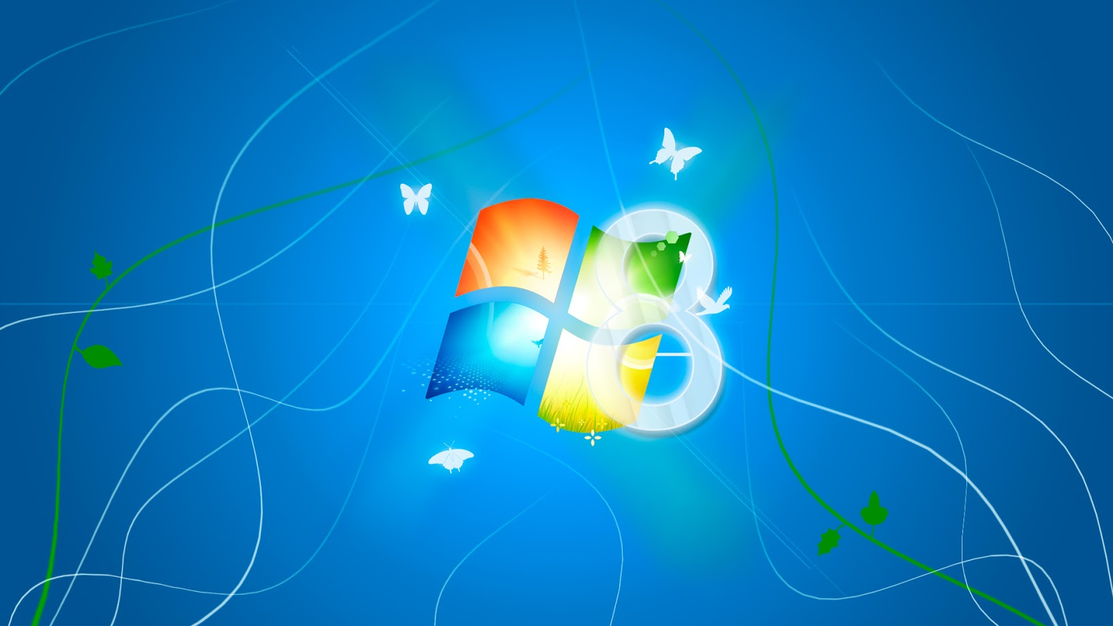 Windows 8 HD Wallpaper Light