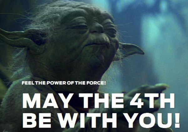 May the fourth be with you Wallpaper