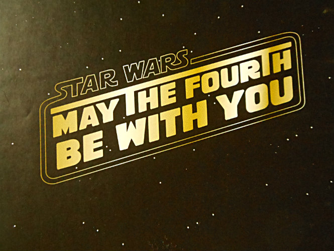May the fourth be with you! Wallpaper