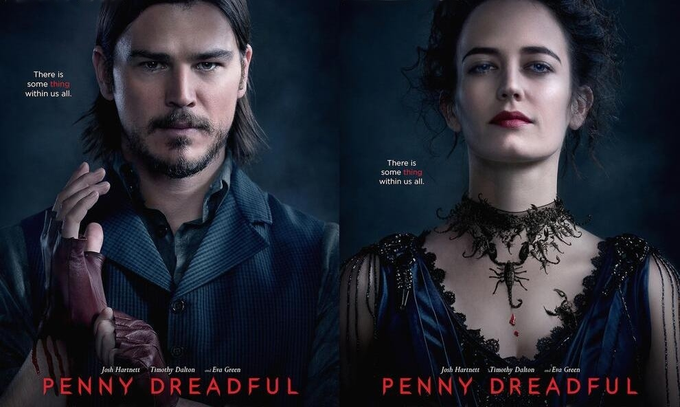 Penny Dreadful Josh Harnett Eva Green Wallpaper