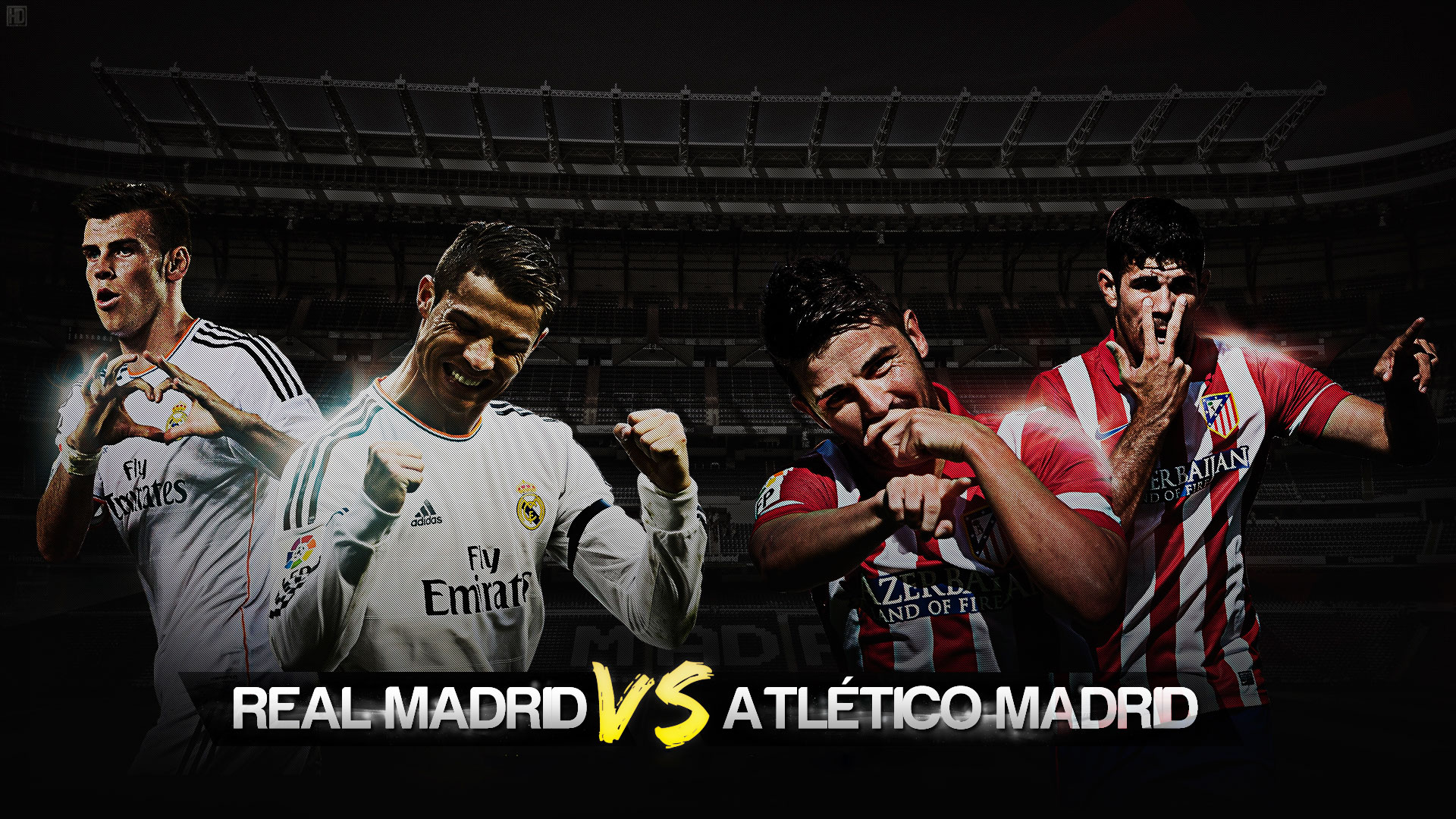 Real Madrid vs Atletico Madrid 2014 Wallpaper Wallpaper