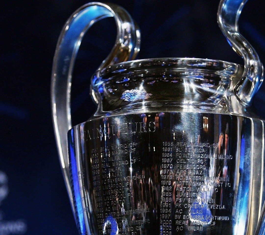 Trophy Champions League Wallpaper