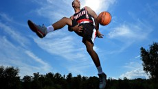 Damian Lillard Wallpaper HD Trick Shot