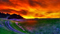 Awesome HDR Sunset Wallpaper