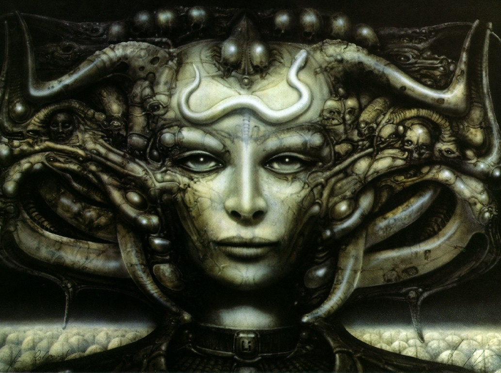 HR Giger Art Wallpaper