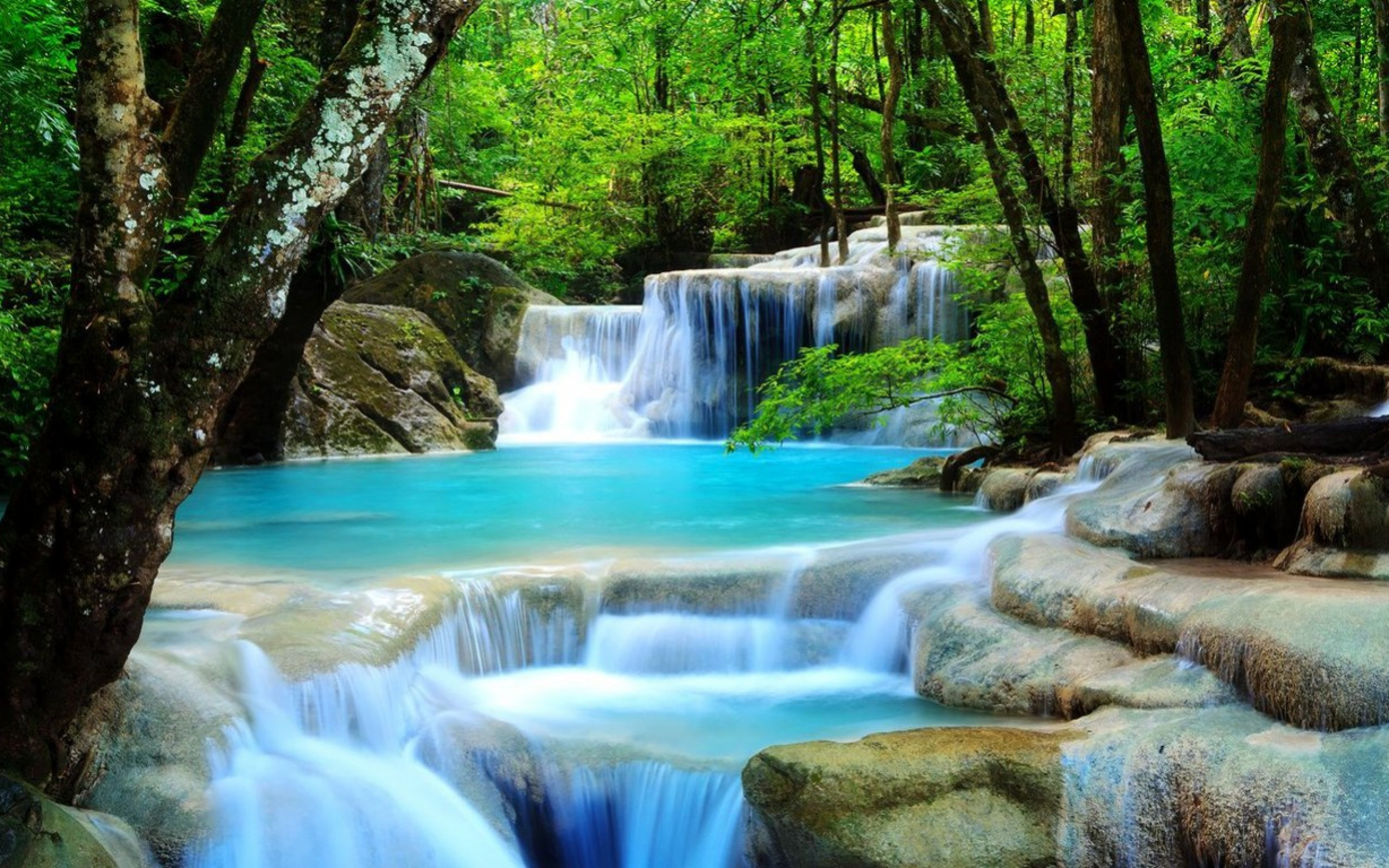 Waterfalls Wallpaper Wallpaper
