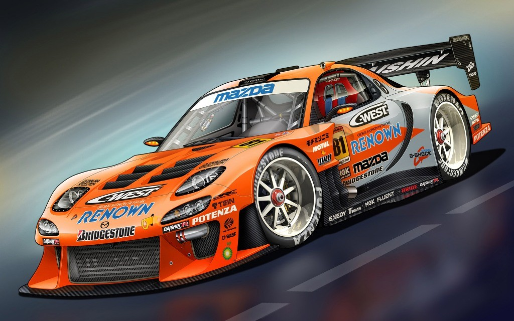 class race car wallpaper in this wallpaper the racing car is to be Wallpaper