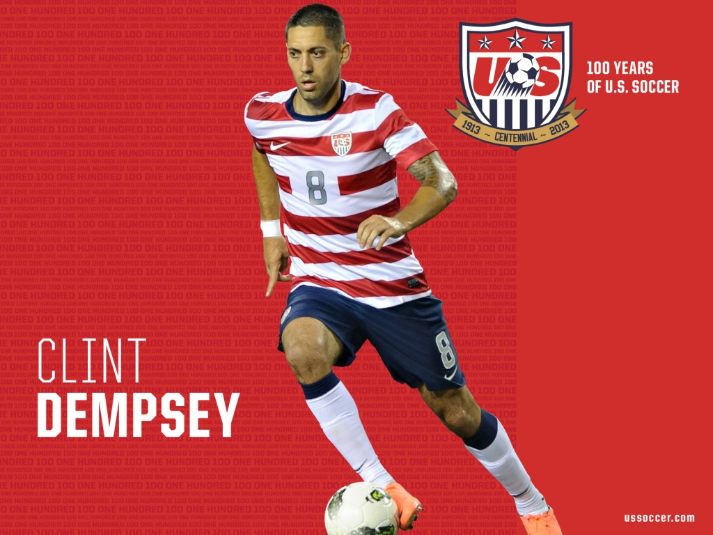 Clint Dempsey USA Wallpaper HD Wallpaper