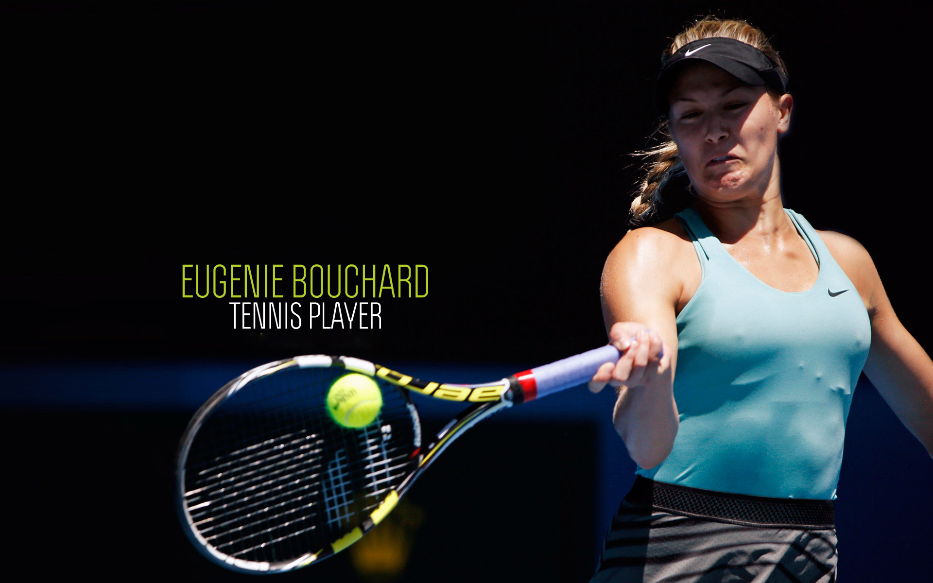 Eugenie Bouchard Hd Wallpapers With Resolutions 1920×1200 Pixel Wallpaper