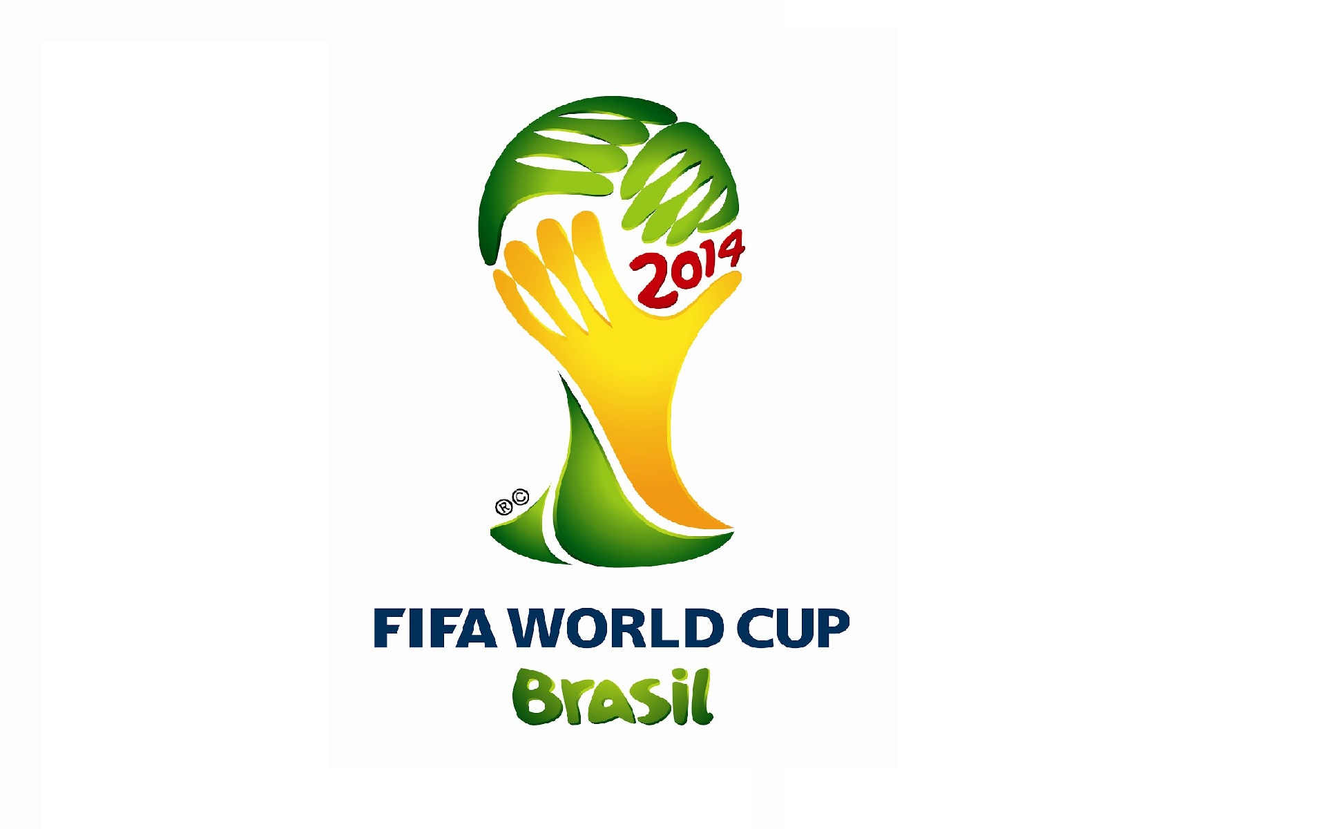 World Cup Brazil 2014 Logo Wallpaper Background Wallpaper