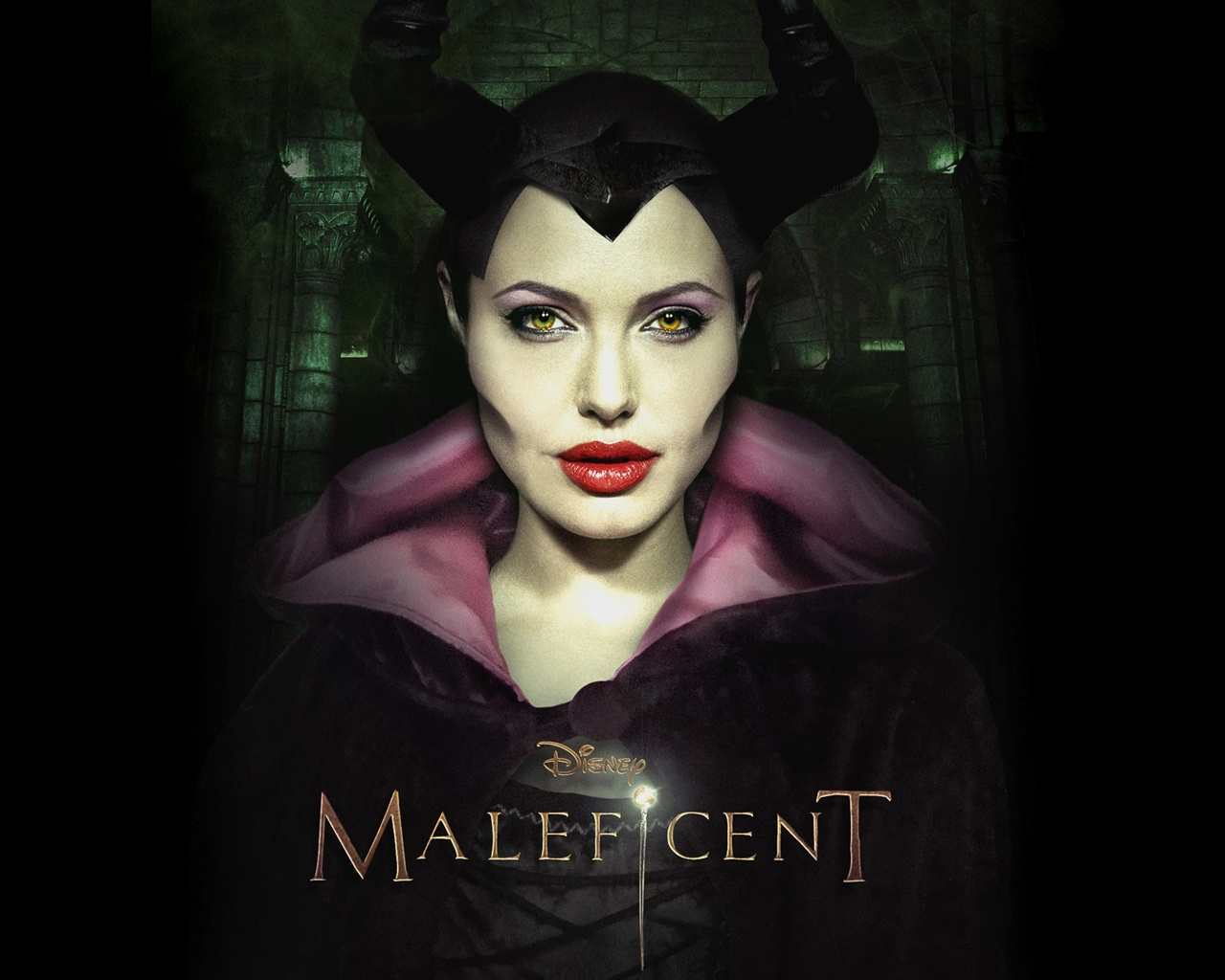 Angelina Jolie Maleficent 2014 Movie Wallpaper Wallpaper