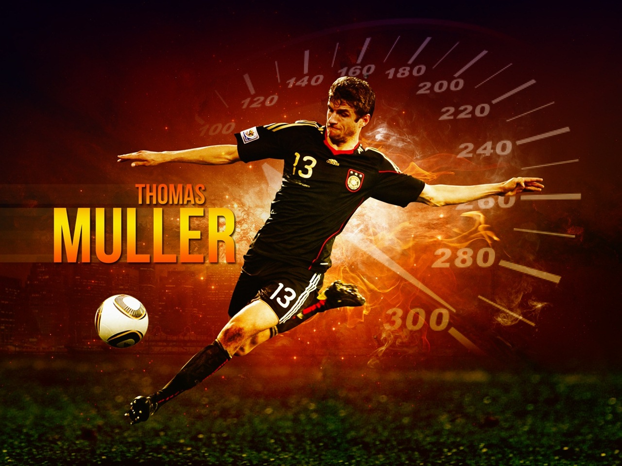 Thomas Muller Germany Wallpaper Wallpaper