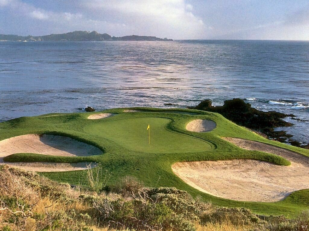 Pebble Beach Golf Course Desktop Wallpaper Wallpaper
