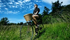 Girl Bike Bicycle Summer Miscellanea Wallpaper with 2560x1600