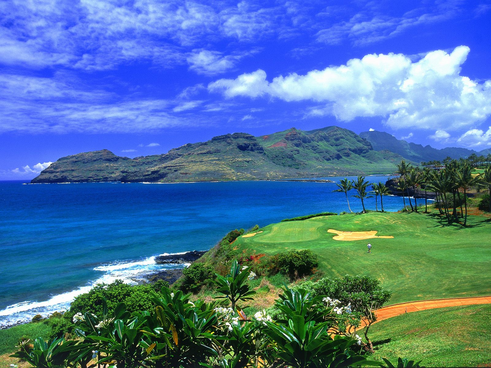 Golf Hawaii Wallpaper