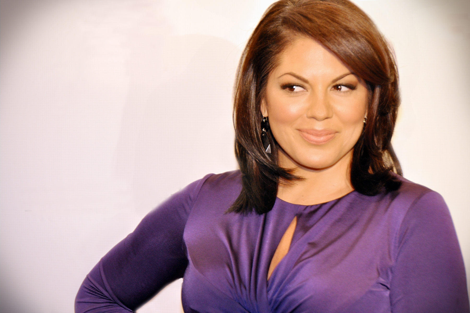 Sara Ramirez Family Celebrity Wallpaper HD Wallpaper