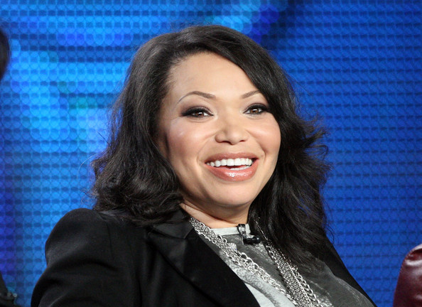 Tisha Campbell-Martin Actress Tisha Campbell-Martin speaks at Disney