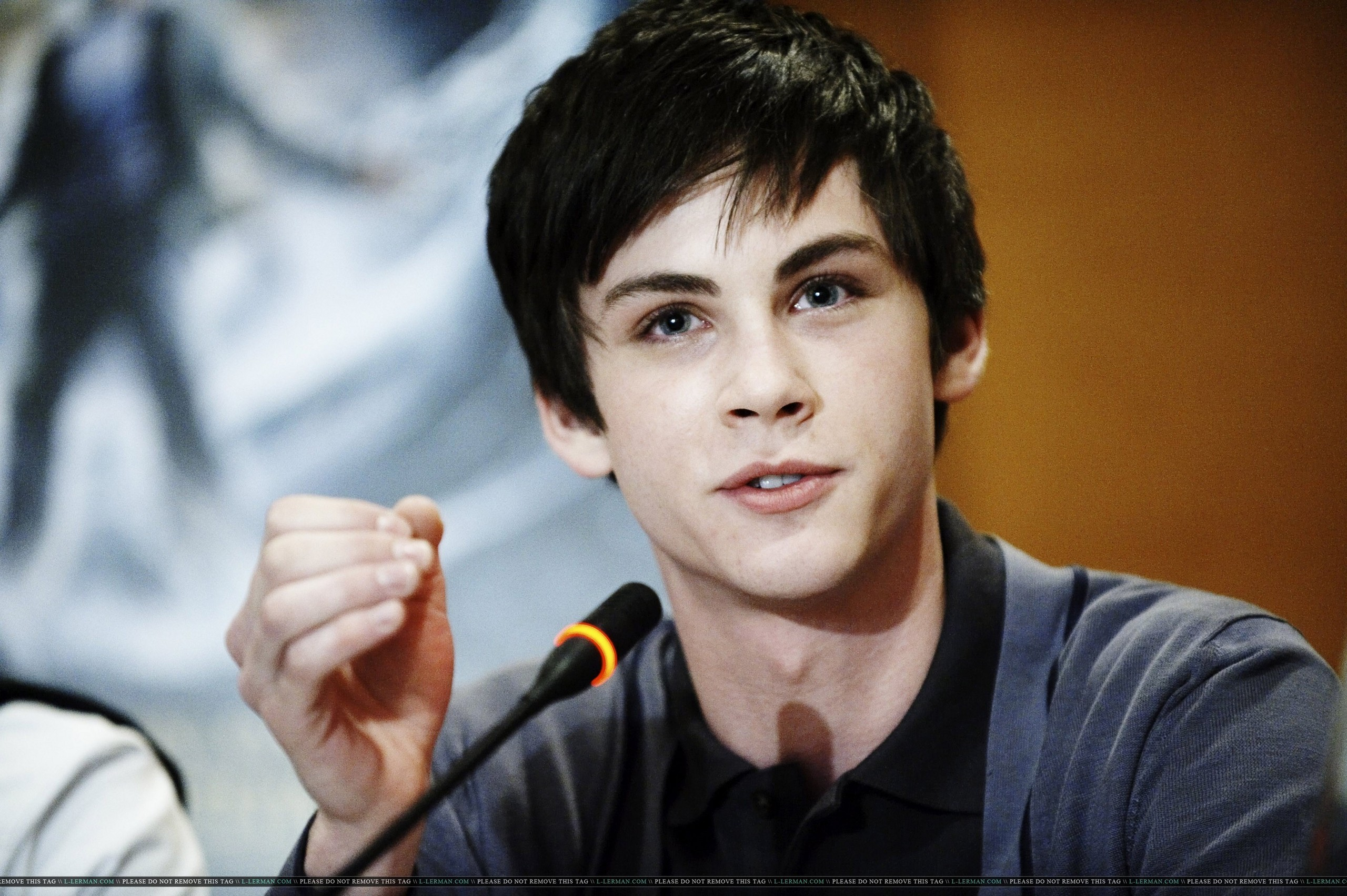 Logan Lerman  hd wallpaper Wallpaper