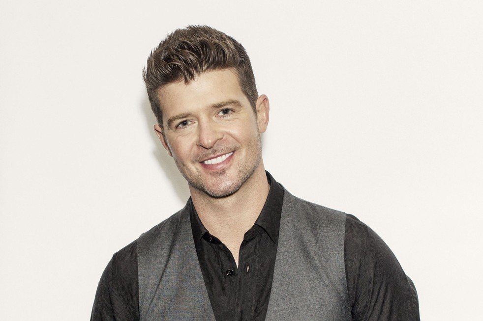 Robin Thicke  Celebrity Wallpaper HD Wallpaper