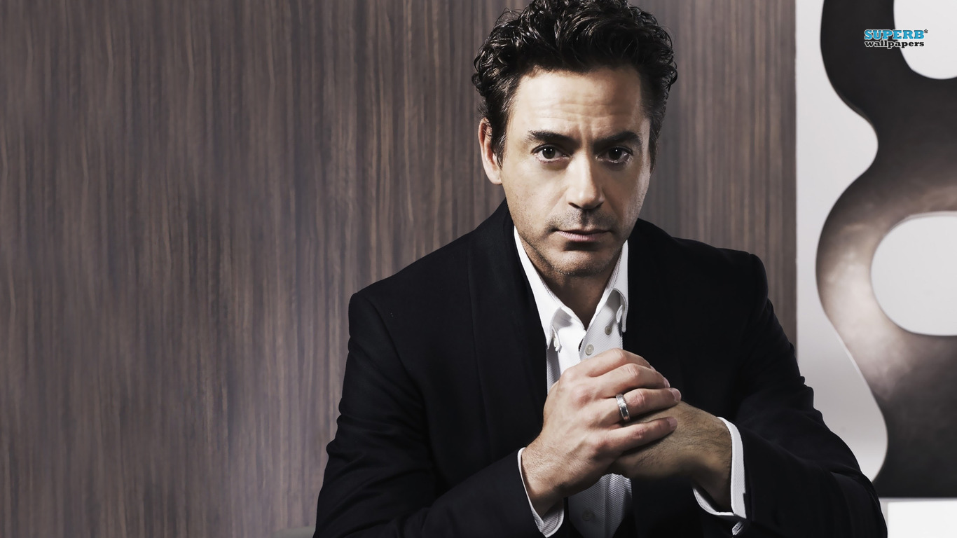 Robert Downey HD Desktop Wallpaper Wallpaper