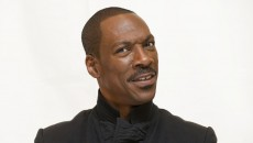 Eddie Murphy popular comedian making funny face